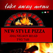 New Style Pizza Logo
