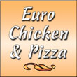 Euro Chicken And Pizza Logo