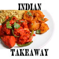 Taj Tandoori Take Away Logo