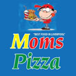 Moms Pizza Logo