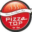 Pizza Top takeaway menu Logo